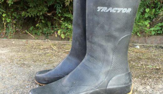最強の田靴トラクターシューズは農作業にも釣りにもオススメ
