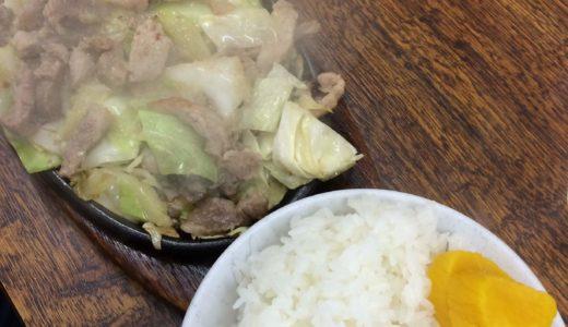 [びっくり亭]高宮店の鉄板焼肉を一度食べると