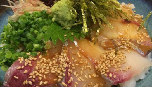 大漁旗の新鮮海鮮丼「ごまカンパチ丼」ランチを喰らってきた!
