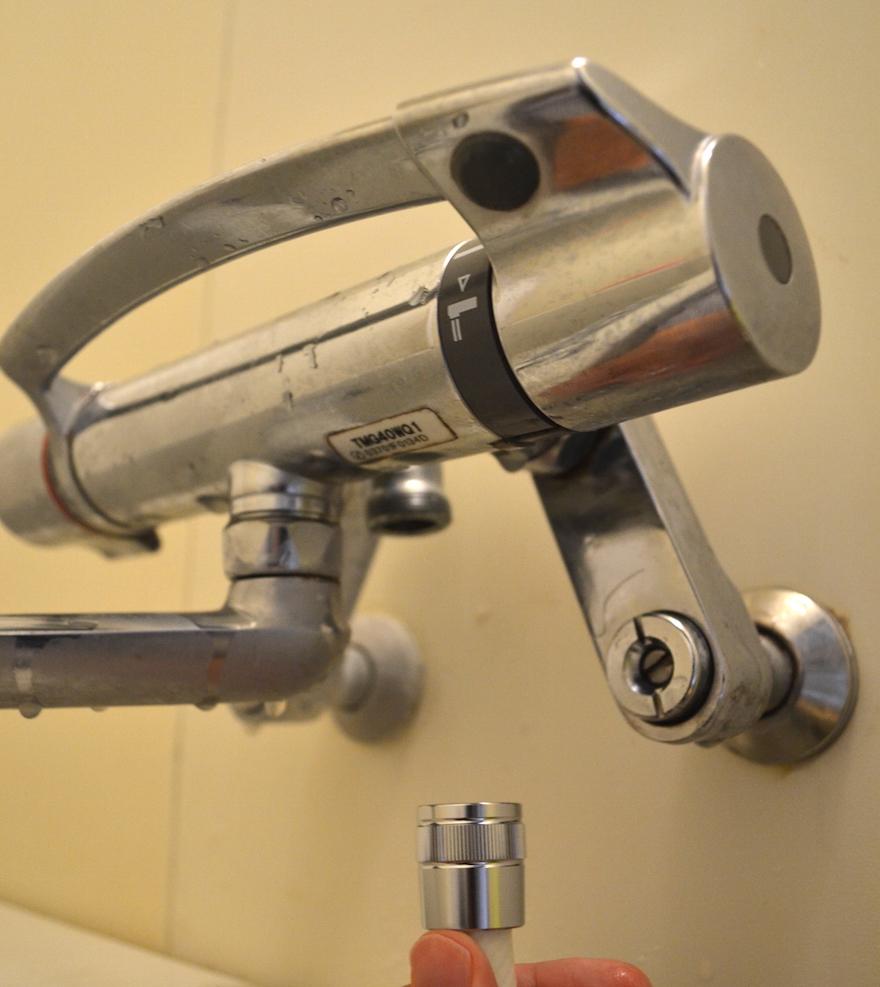 交換 シャワー 方法 ヘッド